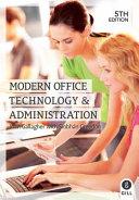 Books - Mod Office Tech & Admin 5th Ed | ISBN 9780717159680