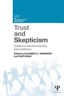 Pdf Trust and Skepticism Telecharger