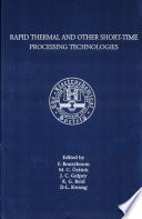 Rapid Thermal and Other Short-time Processing Technologies