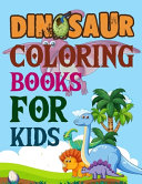 Dinosaur Coloring Books For Kids Book