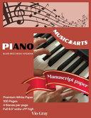 Piano Manuscript Paper Book PDF
