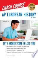 AP® European History Crash Course Book + Online