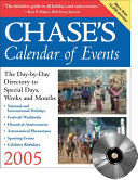 Chase s Calendar of Events 2005