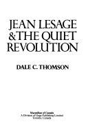 Jean Lesage   the Quiet Revolution