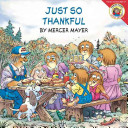 Little Critter  Just So Thankful Book PDF