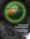 Foreign legal and regulatory landscape its effect upon the development and growth of e commerce Book
