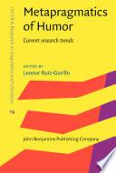 Metapragmatics of Humor Book