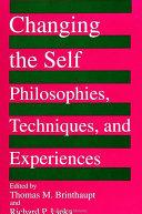 Pdf Changing the Self