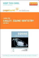 Equine Dentistry Pageburst on VitalSource Access Code