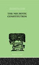 Pdf The Neurotic Constitution