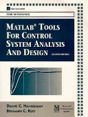 MATLAB Tools for Control System Analysis and Design