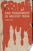 Crime And Punishment In Ancient India