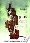 The Gospel Of John Original Version Volume Ii