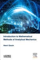 Mathematical Methods of Analytical Mechanics Book