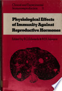 Physiological Effects of Immunity Against Reproductive Hormones