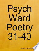Psych Ward Poetry 31-40