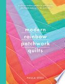 Modern Rainbow Patchwork Quilts
