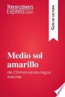 Medio sol amarillo de Chimamanda Ngozi Adichie (Guía de lectura)  : Resumen y análisis completo