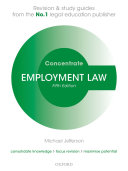 Employment Law Concentrate