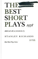 The Best Short Plays  1978