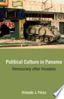 Political Culture in Panama
