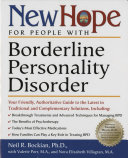 New Hope for People with Borderline Personality Disorder Book PDF