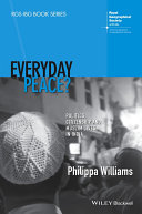 Everyday Peace Politics  Citizenship and Muslim Lives in India