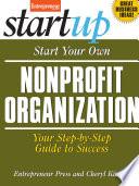 Start Your Own Nonprofit Book PDF