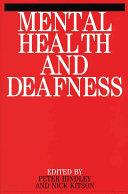 Cover of Mental health and deafness
