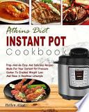 Atkins Diet Instant Pot Cookbook