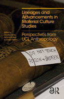 Lineages and Advancements in Material Culture Studies Pdf/ePub eBook