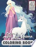 The Last Unicorn Coloring Book