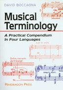 Musical Terminology
