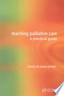 Teaching Palliative Care Book PDF