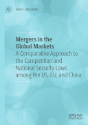 Mergers in the Global Markets