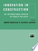 Innovation in Construction