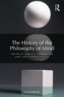 Pdf The History of the Philosophy of Mind