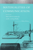 Materialities of Communication