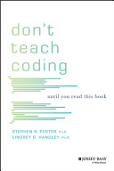 Don t Teach Coding