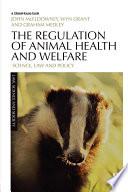 The Regulation Of Animal Health And Welfare
