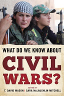 Pdf What Do We Know about Civil Wars?