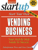 Start Your Own Vending Business Book PDF