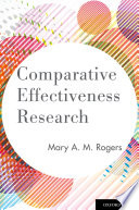 Comparative Effectiveness Research Book