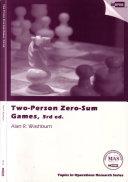 Two person Zero sum Games