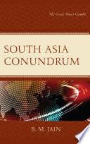 South Asia Conundrum