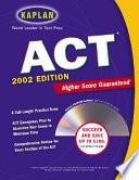 Kaplan ACT 2002