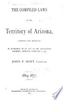 The Compiled Laws of the Territory of Arizona