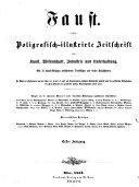Faust. Poligrafisch-illustrirte Zeitschrift für Kunst, Wissenschaft, Jndustrie und Unterhaltung ... Redigirt von Hermann Meynert (etc.)