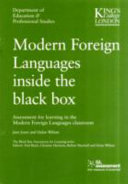 Modern Foreign Languages Inside the Black Box ebook