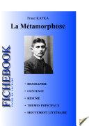 Pdf Fiche de lecture La Métamorphose de Kafka (complète) Telecharger